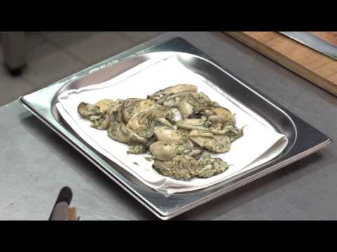 The fishplate and the garnish elements / The training film of Hungarian Bocuse d'Or Academy