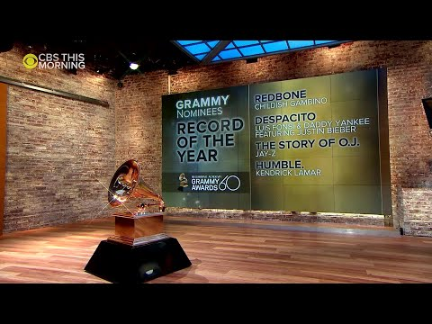 CBS News: 2018 Grammy Awards nominations Mp3
