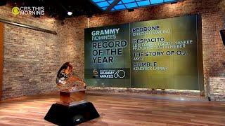CBS News: 2018 Grammy Awards nominations
