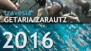 Travesía Getaria Zarautz 2016 desde dentro