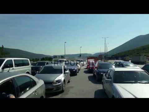 Report TV - Fundjava, fluks turistësh nga Kosova në Doganën e Morinës