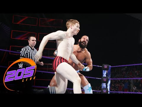Thumbnail: Gentleman Jack Gallagher vs. Tony Nese: WWE 205 Live, June 20, 2017