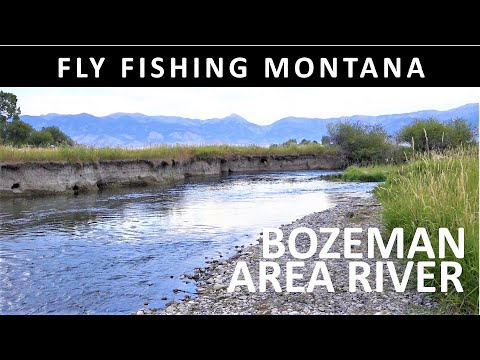 Fly Fishing Montana Bozeman Area River Afternoon September Trailer For Amazon Video