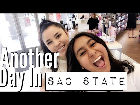 Living The College Life In Sac State//2018