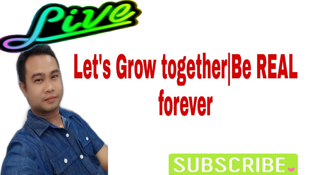 Let's Grow together | Be REAL forever| REAL BOBBY channel