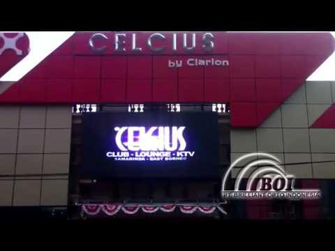 Celcius Club & KTV Smarinda_PT. Brilliant Opto Indonesia_Videotron Projects