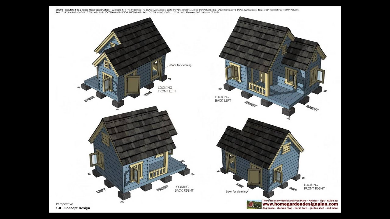 DH300 Insulated Dog House Plans Construction How To Build An ... on downloadable house plans, very small house plans, reasonable house plans, preliminary house plans, defensive house plans, colored house plans, passive house plans, compound house plans,