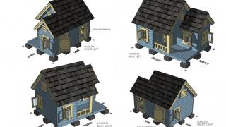 Dh300 - Insulated Dog House Plans Construction - How To Build An Insulated Dog House