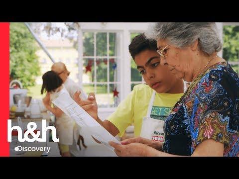 Cocinando con la abuela | Jr. Bake Off: Italia | Discovery H&H