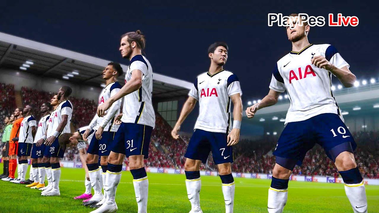 Pes 2021 Antwerp Vs Tottenham Hotspur Europa League Gameplay Pc Youtube