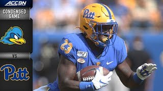 Delaware vs  Pittsburgh Condensed Game | ACC Football 2019-20