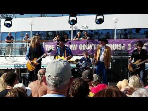 The Bottle Rockets with Warner Hodges and Jason Ringenberg Outlaw Country Cruise 3