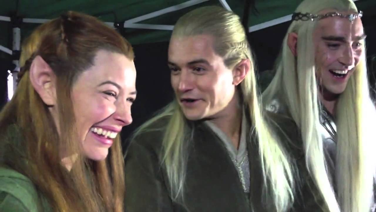 Lee, Orlando and Evangeline watching fan reactions to The ...