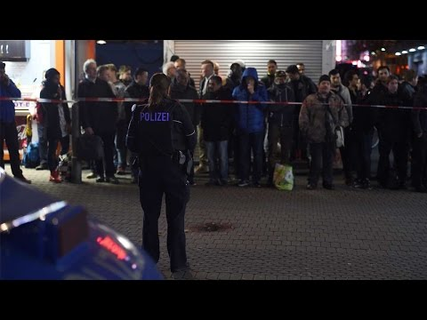 Seven injured in Dusseldorf axe attack