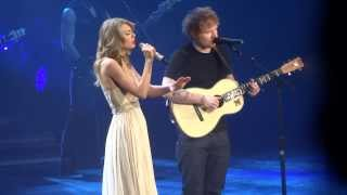 Taylor Swift Ed Sheeran I See Fire - live in Berlin 2014.mp3