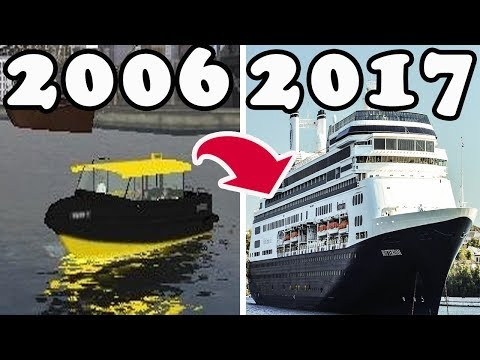 Evolution Of Ship Simulator Games 2008 - 2018