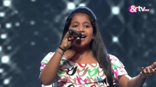 Shreya Basu Sings - Liveshows - Episode 16 - September 11, 2016 - The Voice India Kids
