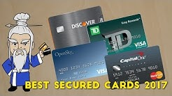 What is the Best Secured Credit Card? (2017)