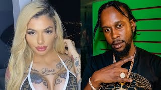 Celina Powell EXPOSED By Jamaican Rapper PopCaan 🙄