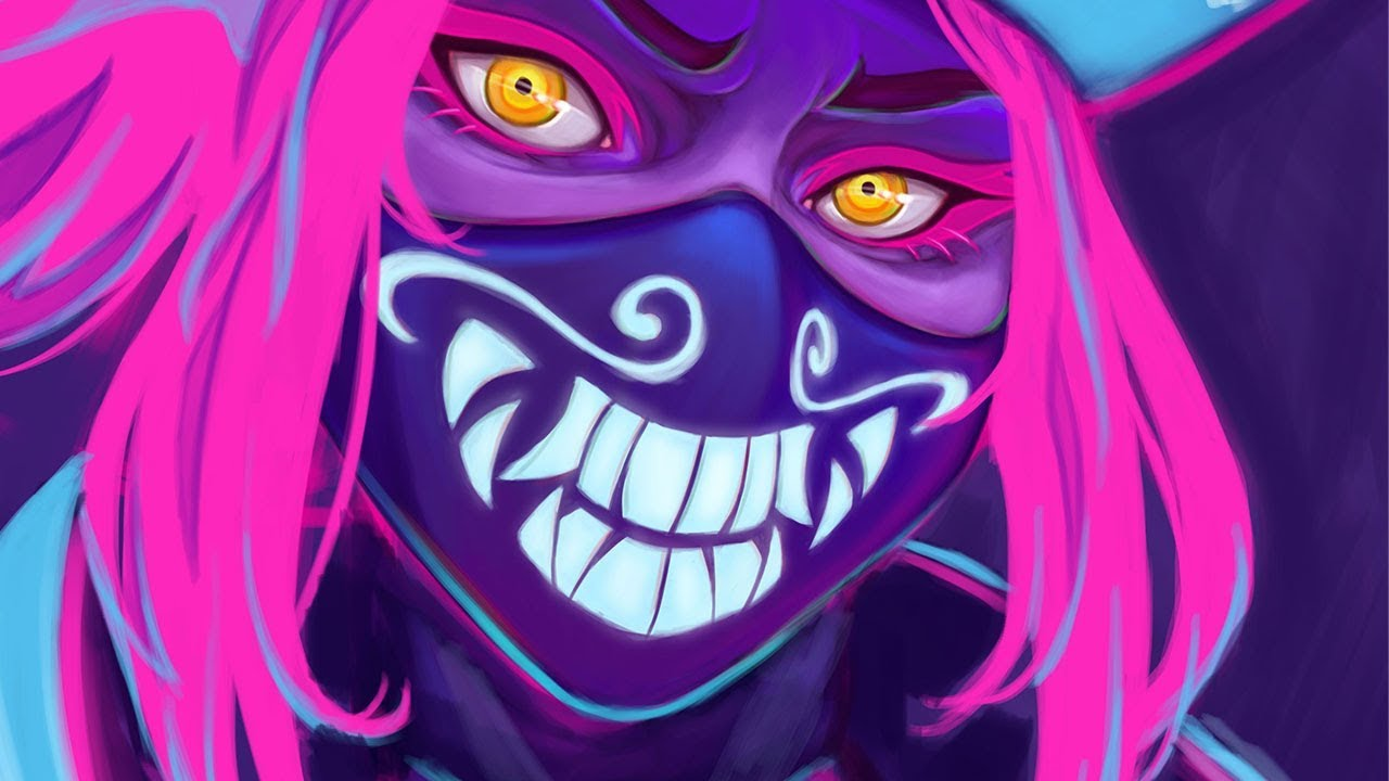 kda akali ranting about amazon draw with mikey
