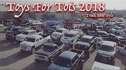 HOW THE WEST TEXAS TRUCK SCENE COMES TOGETHER AS ONE FOR A GOOD CAUSE!! Toys for tots 2018