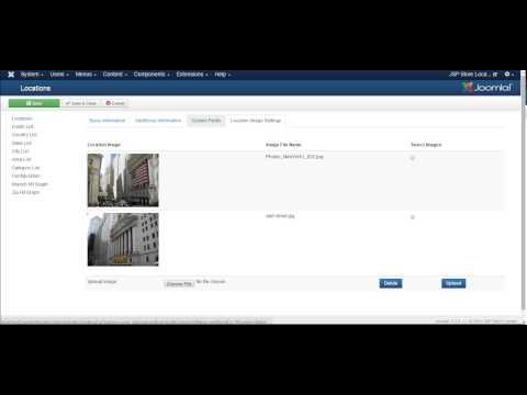 JSP Store locator installation video