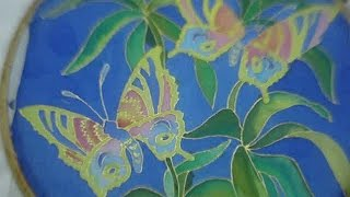 Silk Painting - Butterflies