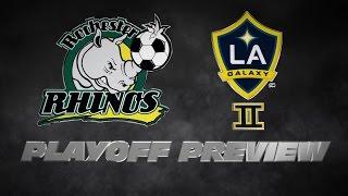 USL PRO Playoffs Preview -- LA Galaxy II vs. Rochester