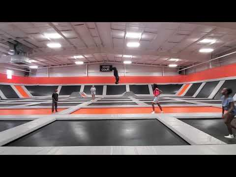 I did 53 backflips after playing dodgeball and jumping around for 3 hours getting my cardio in 👊😎