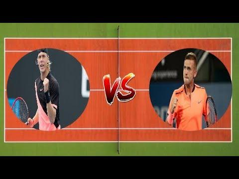 Denis Shapovalov vs Daniel Evans