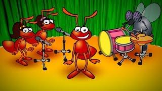 El Baile de la Hormiga - Canciones Infantiles para Bailar - TuTuTras Tv