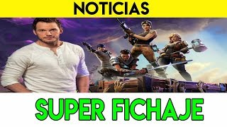 MÁXIMA PROMOCIÓN DE FORTNITE | Epic Games y Fortnite fichan a Chris Pratt