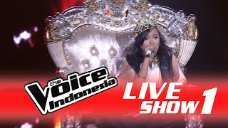 """Dewi Kisworo """"B*tch Better Have My Money""""   Live Show 1   The Voice Indonesia 2016"""