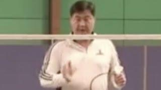 (十三)双打防守步伐(对手网前进攻) Badminton Footwork 13