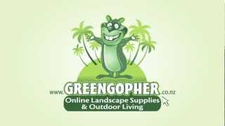 Landscaping? Save Time And Money, Buy Online At Www.greengopher.co.nz