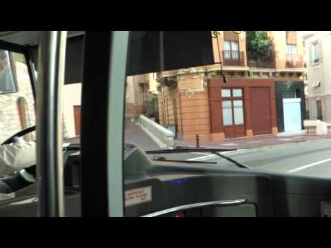 Bus to Saint-Roman  -  Monaco 2015