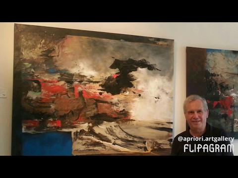 Exposicion Individual de Felix Domingo Bueno en Art Gallery Apriori Panama