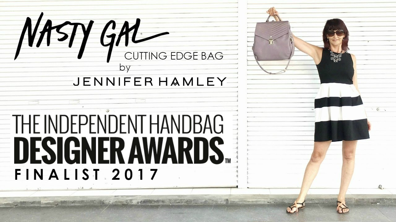 Nasty Gal Cutting Edge Bag By Jennifer Hamley Boss 2017 Independent Handbag Designer Awards