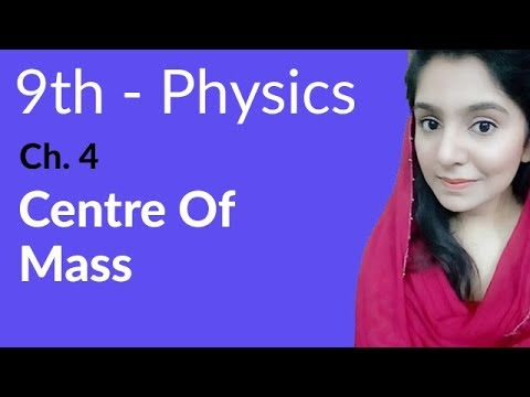 Centre of Mass - Physics Chapter 4 Turning Effect of Forces - 9th Class