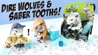 UNTAMED Fingerlings Sabertooth and Direwolf WowWee Toys 2018