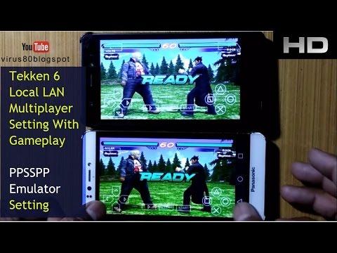 Tekken 6 Local (wifi ) Multiplayer Settings For PPSSPP Emulator | With Gameplay