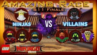 Amazing Race - Season 11 Finale! (LEGO Ninjago Movie Videogame)