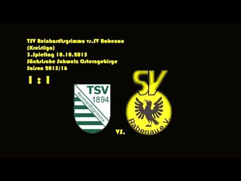 2015-10-10 / 3. Spieltag / Kreisliga A / TSV Reinhardtsgrimma-SV Rabenau