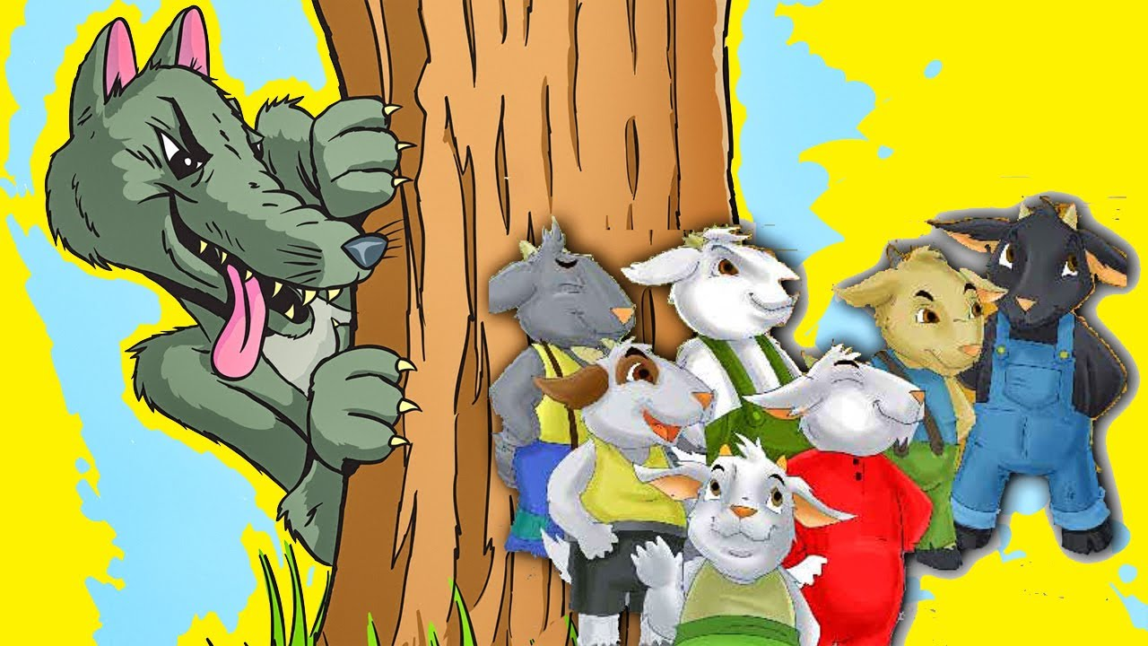 El Lobo y los siete Cabritos en Español - Cuentos Infantiles Clasicos para Niños 7 cabritillos #