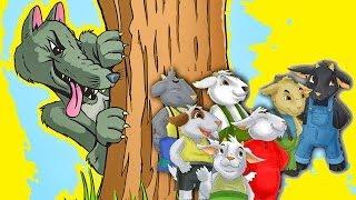 El Lobo y los siete Cabritos en Español - Cuentos Infantiles Clasicos para Niños 7 cabritillos # thumbnail