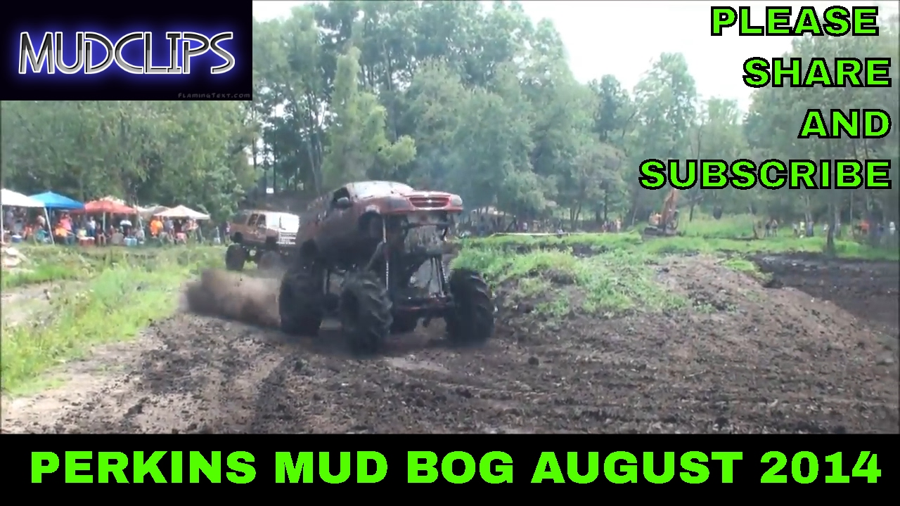 05 DAN PERKINS IN PIT BOSS FORD EXPLORER MEGA TRUCK PLAYS IN THE MUD AT PERKINS MUD BOG AUGUST 2014