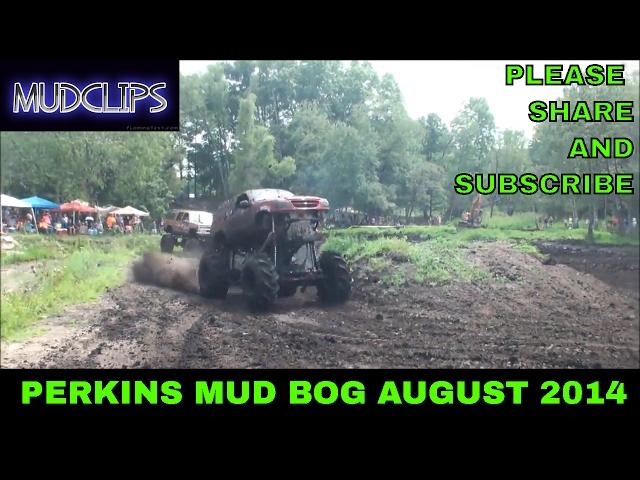 05 DAN PERKINS IN PIT BOSS FORD EXPLORER MEGA TRUCK PLAYS IN THE MUD AT PERKINS MUD BOG AUGUST 2014