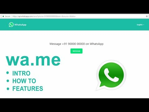 Open whatsapp new feature (wa me) domain | chat without even opening the  app #intro #feature