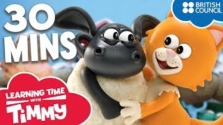 Full Episodes Compilation 21-26 | Learning Time with Timmy | Cartoons for Kids
