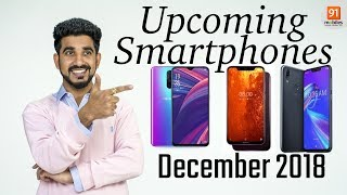 Top Upcoming Smartphones Expected To Launch in December 2018 in India [Hindi हिन्दी]